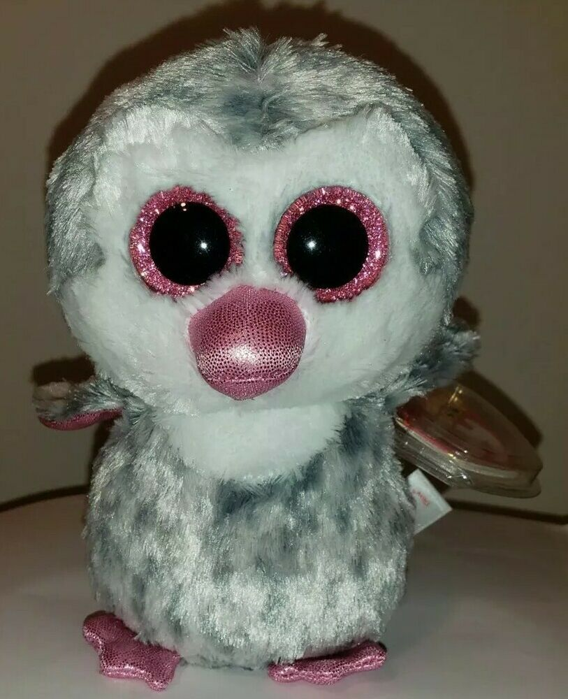 Details about Ty Beanie Boos - OLIVE the Penguin 6