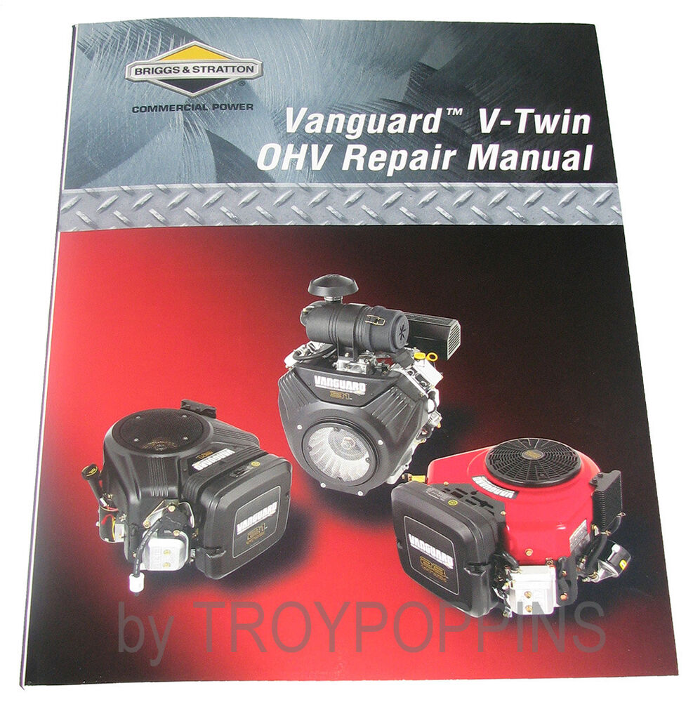 BRIGGS & STRATTON OHV PART VANGUARD V-TWIN-272144 REPAIR MANUAL SMALL  ENGINE OEM | eBay