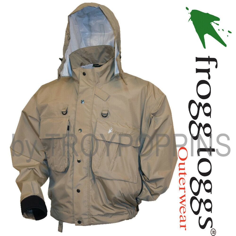 Frogg toggs gear jt62105 stone java hellbender wading fly for Mens fishing rain gear
