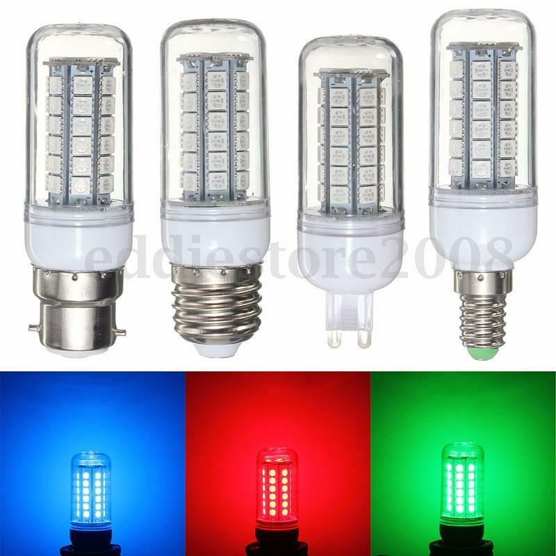 e27 e14 g9 b22 3 5w 5050 smd 48 led corn light bulb lamp. Black Bedroom Furniture Sets. Home Design Ideas