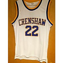 Love and Basketball #22 Quincy McCall Jersey Omar Epps S, M, L, XL, 2XL