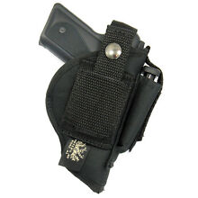 USA MADE BELT SLIDE & CLIP-ON HOLSTER WITH MAGAZINE CARRIER - Choose Your Gun
