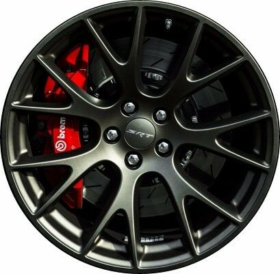 Matte Black Hellcat Charger >> 15-16 Dodge Challenger Charger New Hellcat SRT Wheel 20x9.5 Black Set of 4 Mopar | eBay