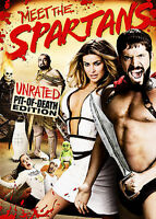 Meet the Spartans (DVD Movie) Unrated Pit of Death Ed. Carmen Electra