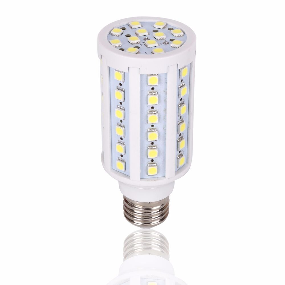 60x 5050 12v 24v 15w dc led light bulb off grid low voltage es bc lamp lighting ebay. Black Bedroom Furniture Sets. Home Design Ideas