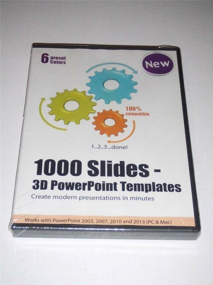 1000 slides 3d powerpoint templates create modern presentations 1000 slides 3d powerpoint templates create modern presentations pc mac new ebay toneelgroepblik Image collections