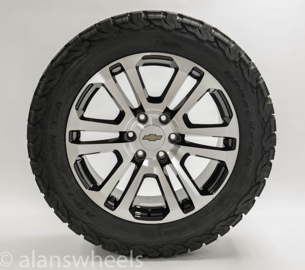 new ck158 chevy suburban tahoe machined black 20 wheels rims tires tpms lug nuts ebay. Black Bedroom Furniture Sets. Home Design Ideas