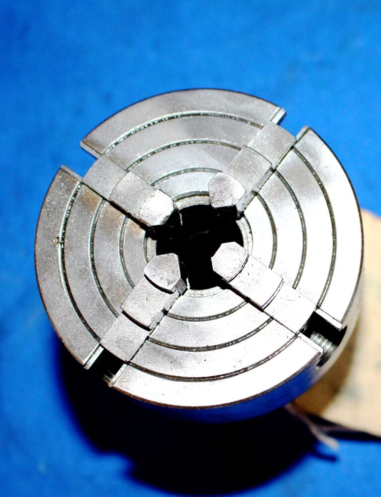 """HARDINGE (TYPE) 3"""" INDEPENDENT 4 JAW CHUCK WITH REVERSIBLE"""