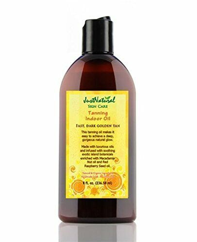 Just Natural Products Tanning Lotion