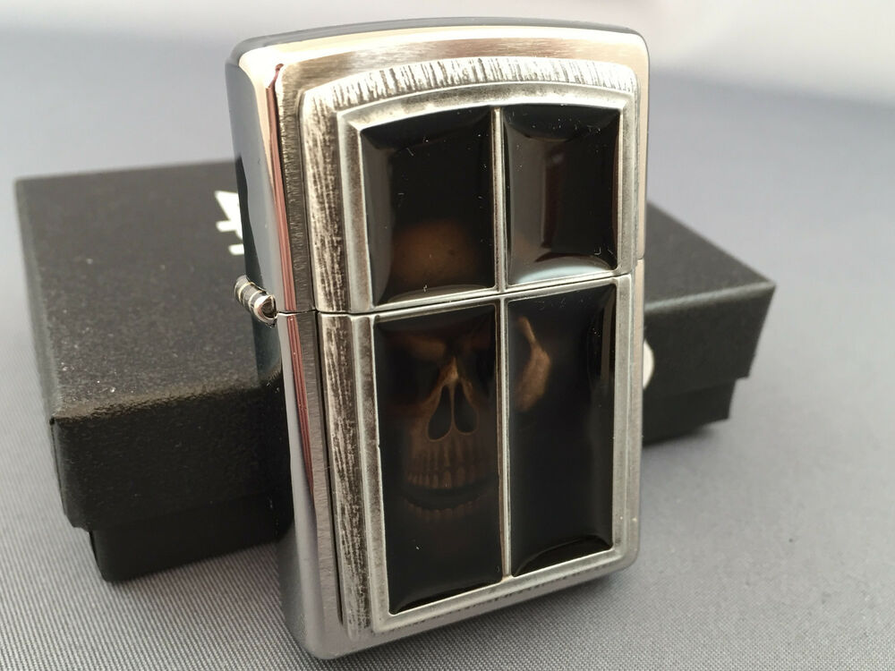 ZIPPO Anne Stokes Special Edition Mirror Skull very rare collectible lighter | eBay