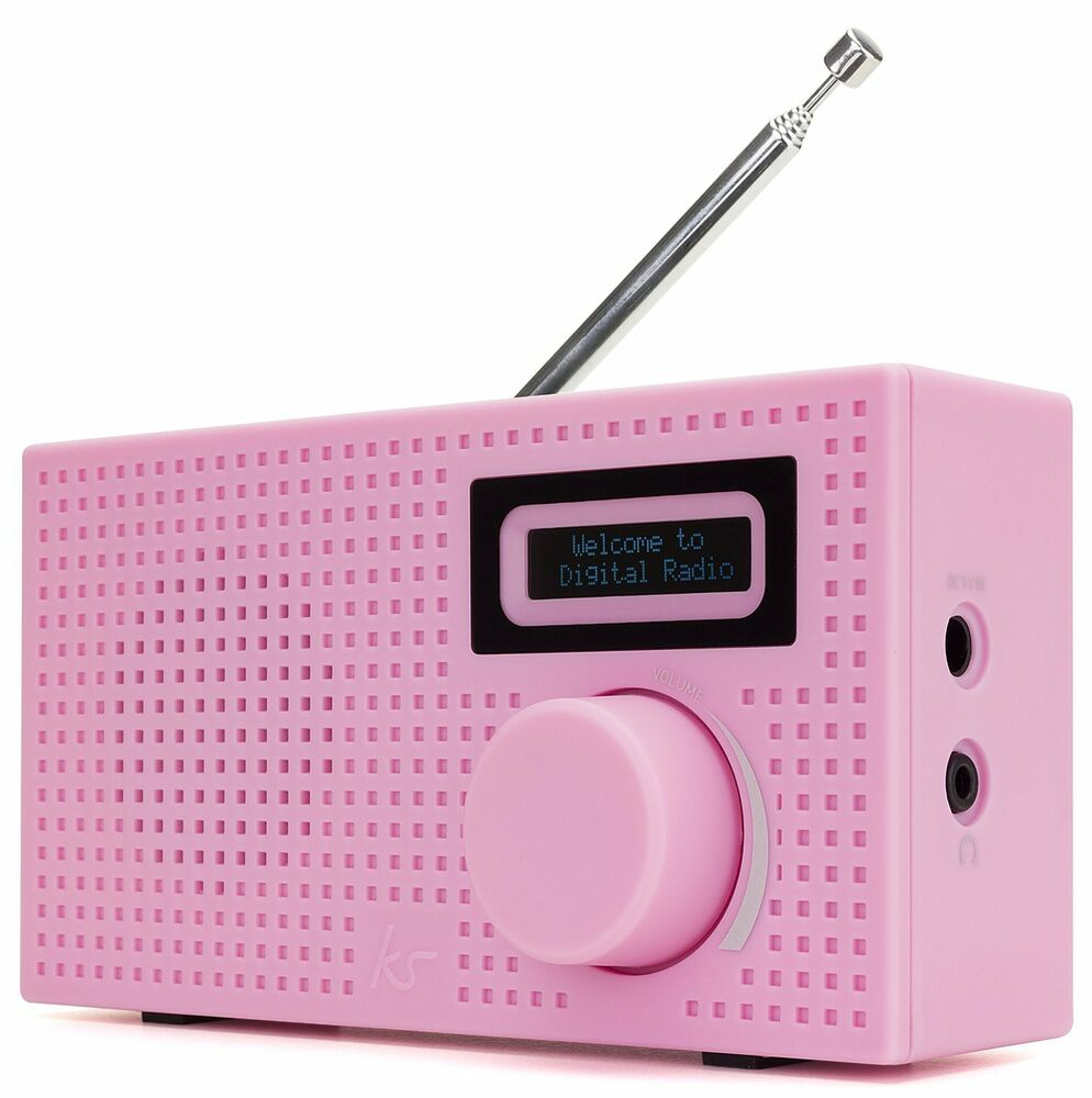 portable personal mini dab fm digital radio radio alarm clock mains or battery ebay. Black Bedroom Furniture Sets. Home Design Ideas