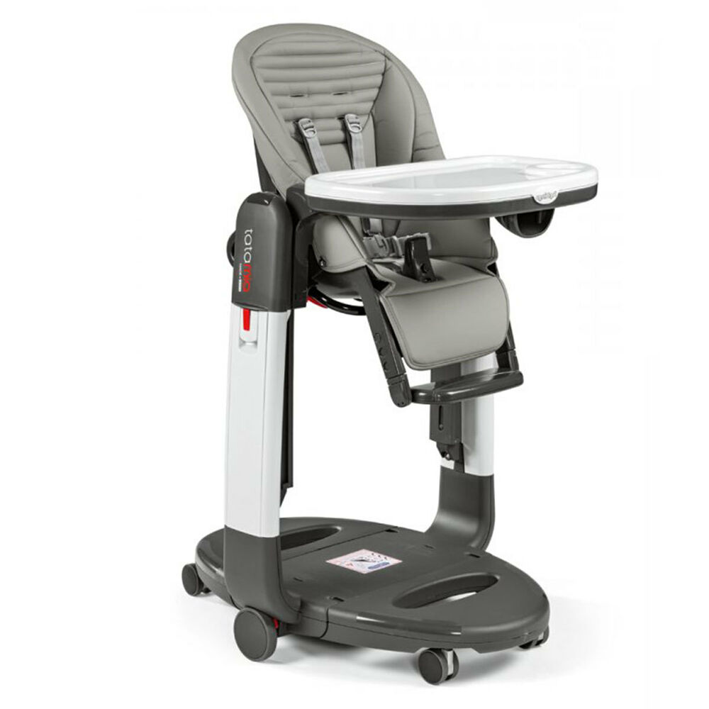 Peg Perego Tatamia High Chair In Stripes Grey Brand New