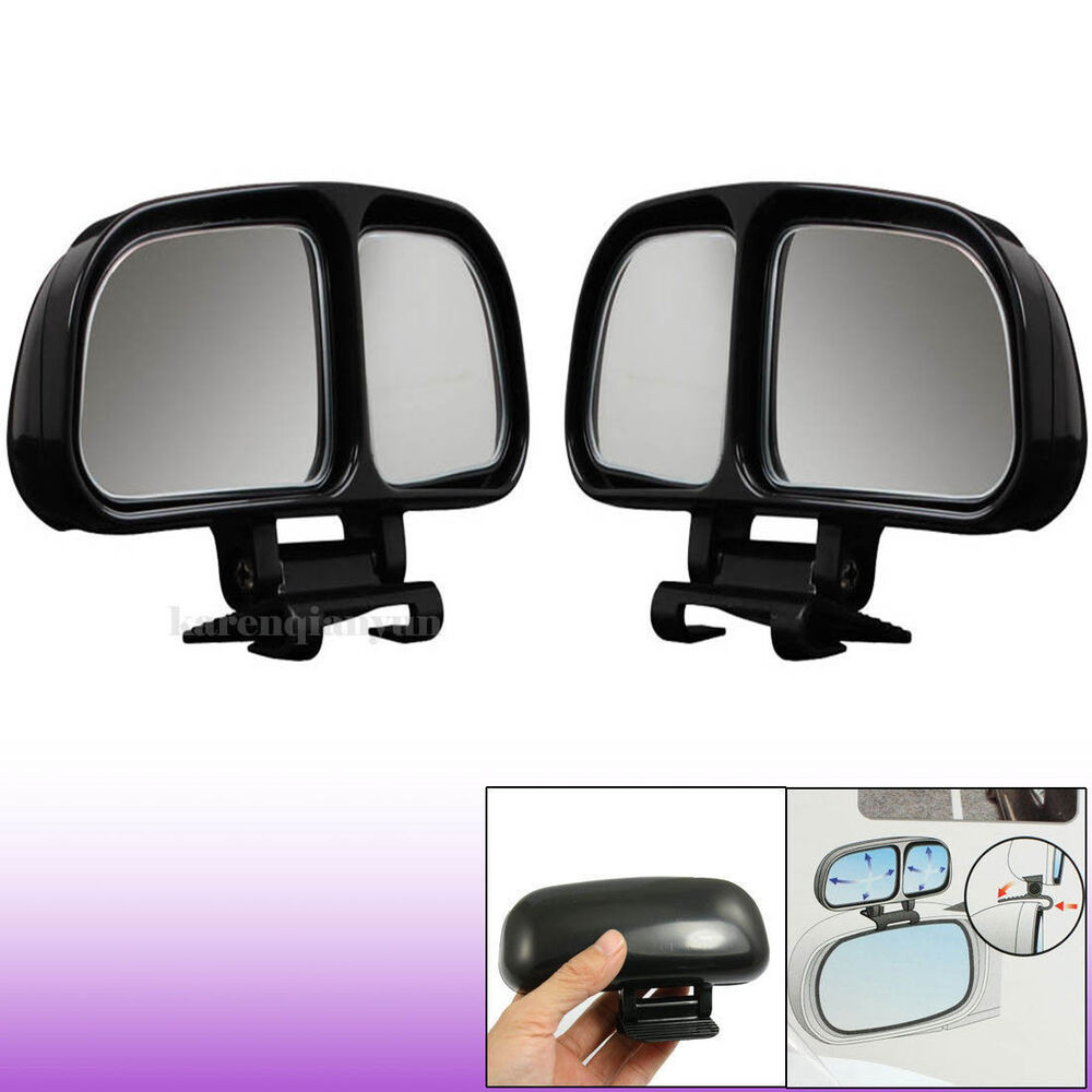Vehicle Towing Mirrors : Xadjustable car van reversing driving wide angle blind