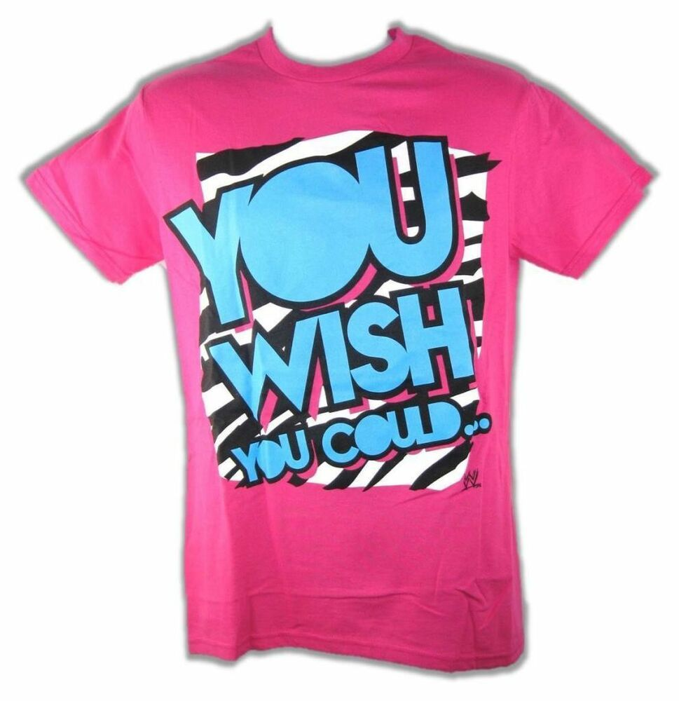 Dolph Ziggler You Wish You Could Wwe Mens Pink T Shirt