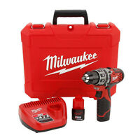 Milwaukee 12V Li-Ion Drill Driver Kit
