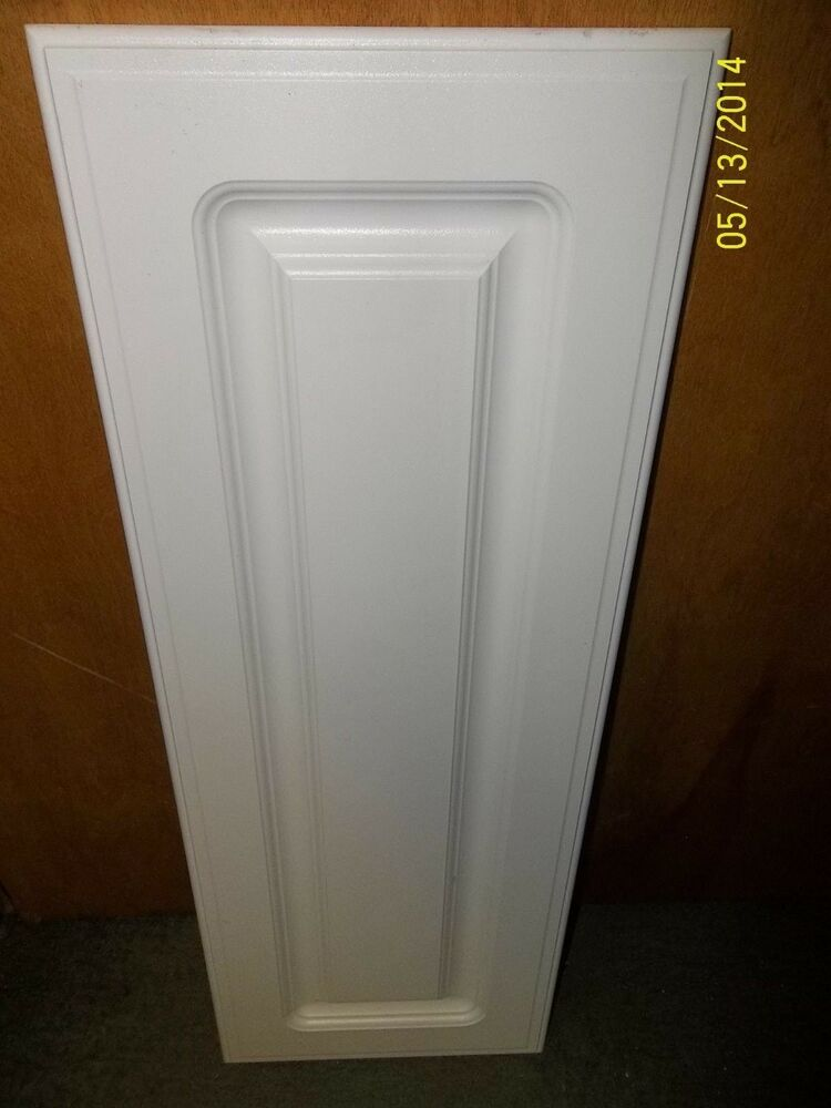 Cabinet Door White Vinyl Raised Rounded Inner Panel Fancy