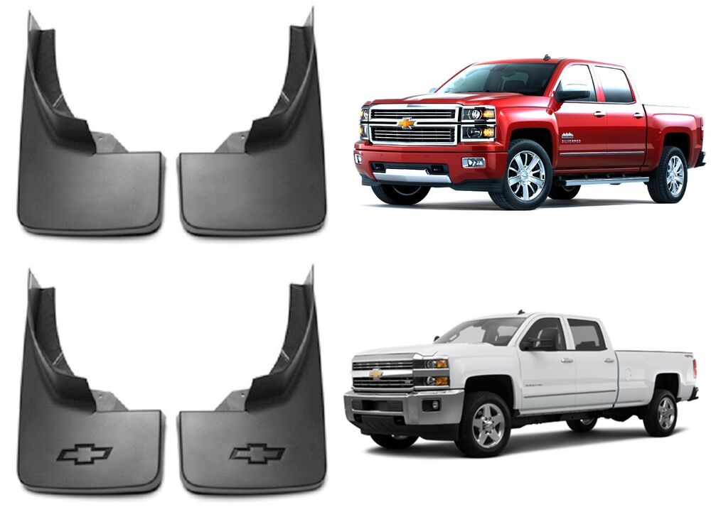 Genuine Oem Gm Molded 2014 2016 Chevy Silverado Mud Flaps