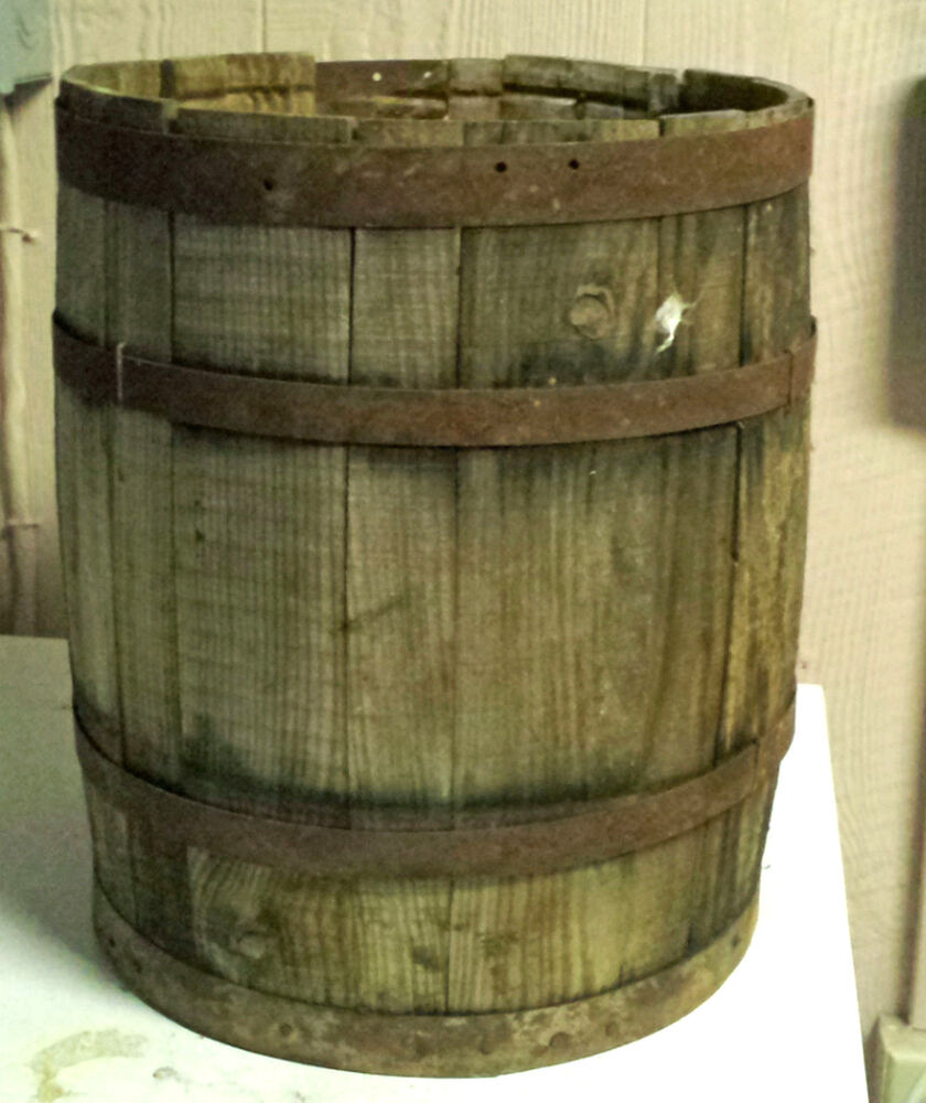how to open a wooden barrel