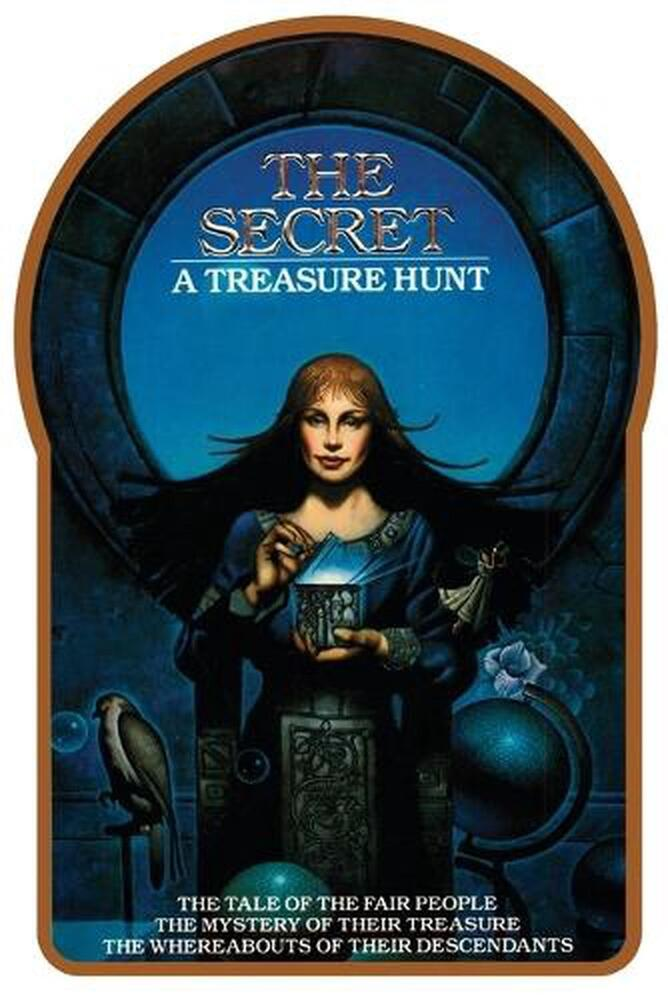 The Secret: A Treasure Hunt By Byron Preiss (English