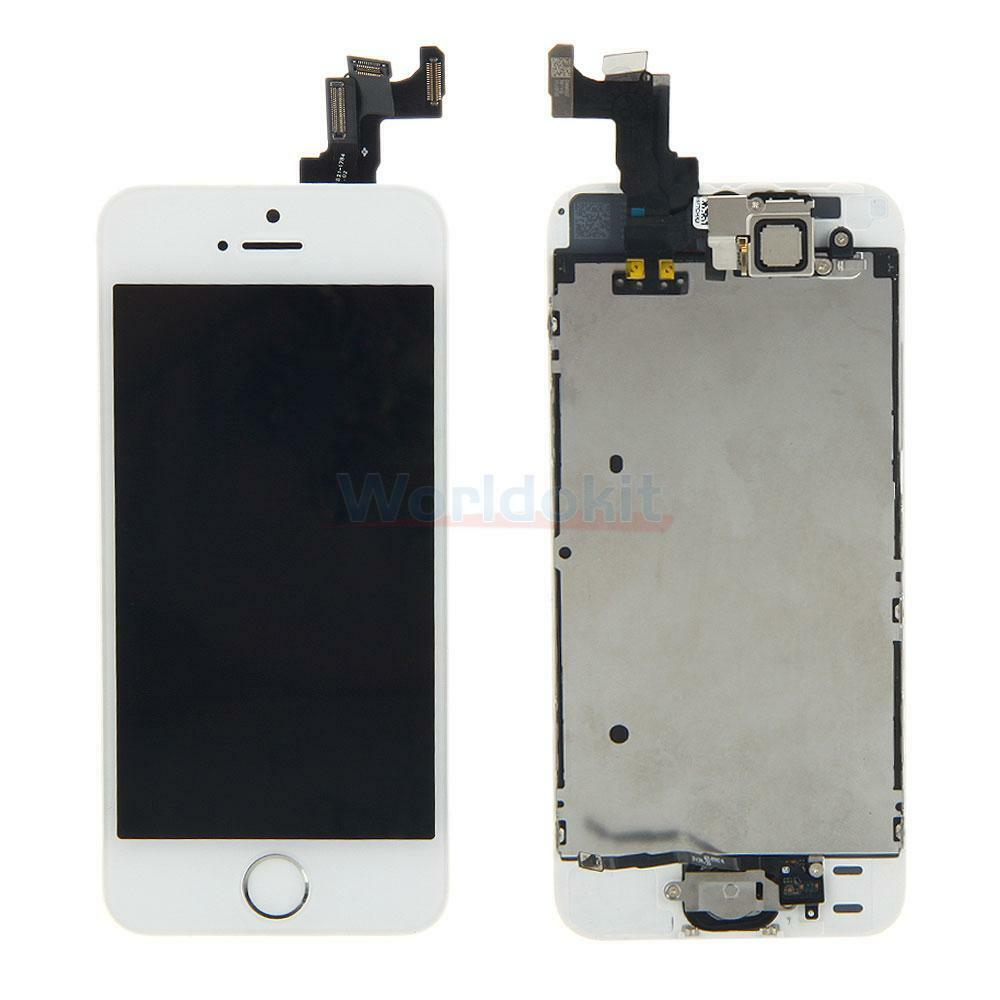 iphone home screen button replace assembly lcd touch digitizer screen home button 15299