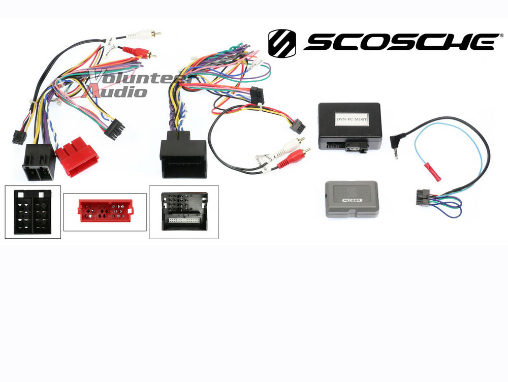 Scosche Pe02sr Porsche Cayenne    911    Boxster Radio Replacement Interface 33991047426