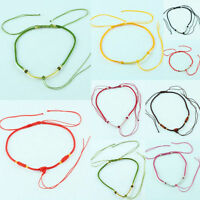Chinese Knot Ajustable Handmade Braided Cord Rope Adjustable Necklace Findings