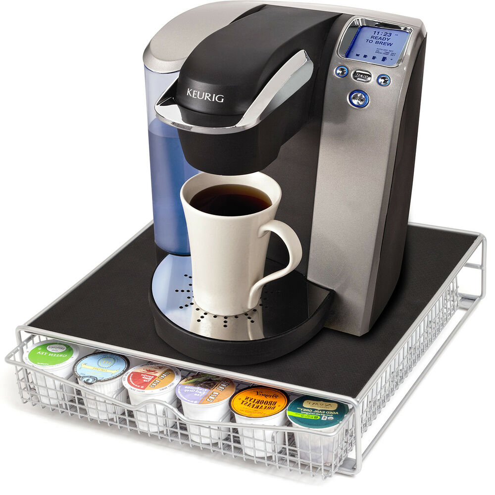 Premier Keurig Coffee Makers and K-Cups are an Unbeatable Morning Combination It all starts with the ever-handy K-cup. The essence that powers your every morning is contained inside every unassuming pod—so be sure to pick up a good supply to start off every day right.