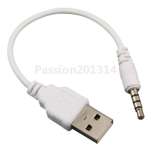 new charger adapter data usb sync audio cable for ipod shuffle 3rd 4th gen ebay. Black Bedroom Furniture Sets. Home Design Ideas