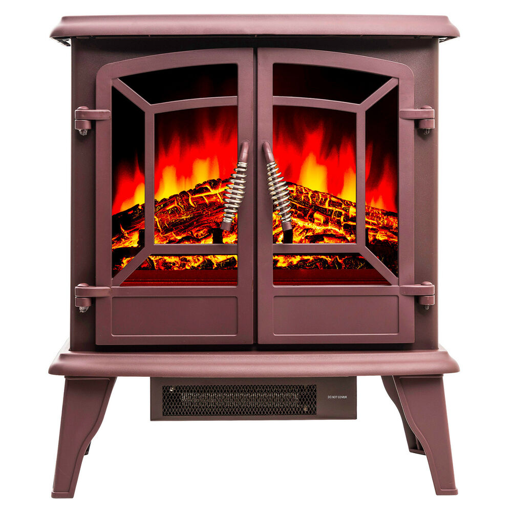 20 Adjustable Freestanding Portable Electric Fireplace Heater Stove