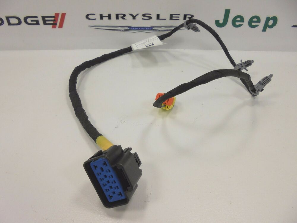 2013 dodge dart new front seat back wiring harness right ... 1966 dodge dart wiring diagram #15