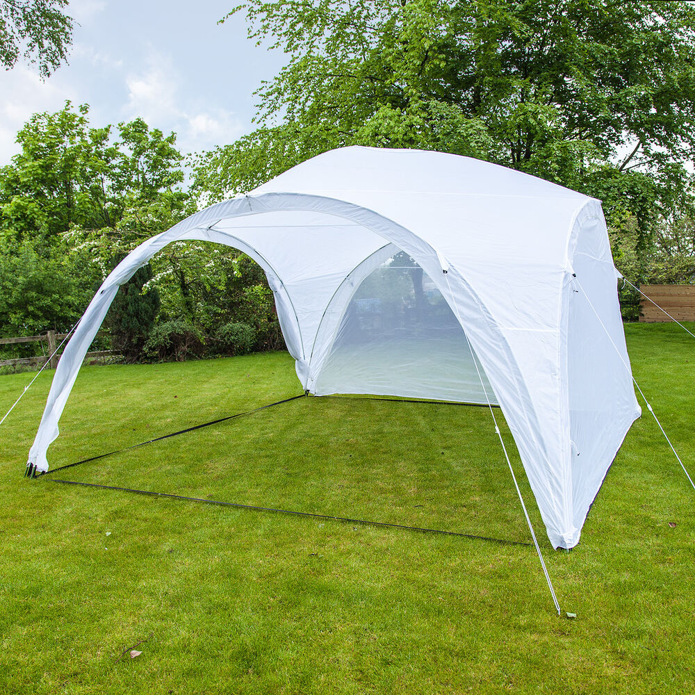 Event Shelter Tent : Event shelter gazebo party tent marquee m with side