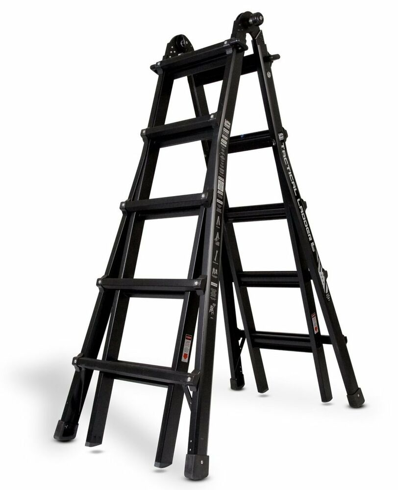 Little Giant M22 Tactical Ladder 22 Foot 300lbs
