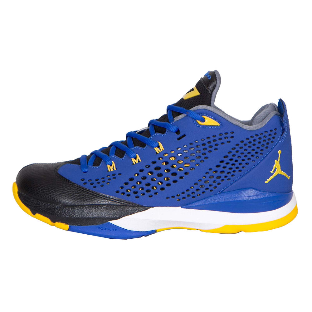uk availability c6603 c8356 Details about Nike Jordan CP3.VII Mens 616805-489 Game Royal Maize  Basketball Shoes Size 10