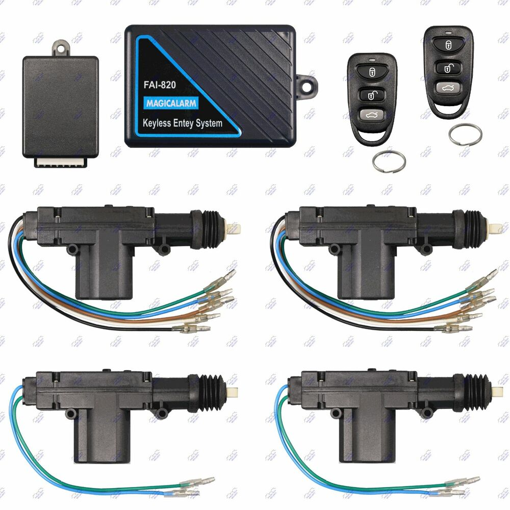 Remote Keyless Entry System 4 Door Power Lock Heavy Duty Actuator Location Further 1998 Oldsmobile Intrigue Fuse Box Diagram Motor Kit 30955560250 Ebay