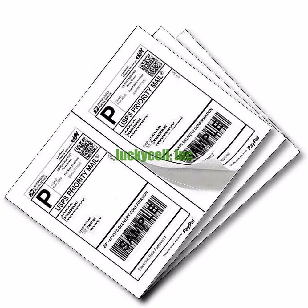 label 200 adhesive paypal ebay shipping labels ups usps 2