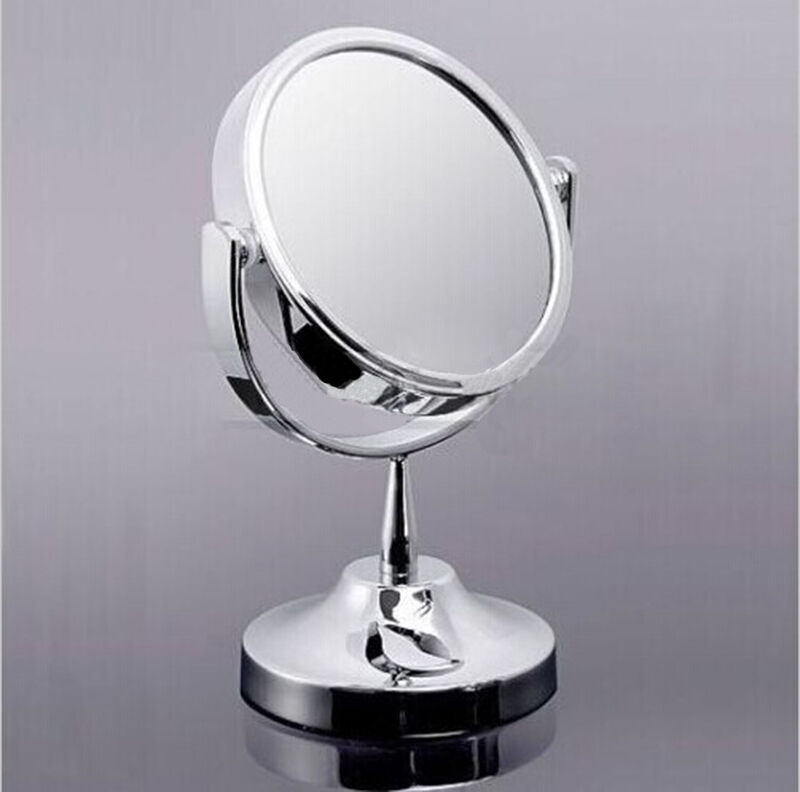 New makeup cosmetic mirror double sided normal and for Mirror stand