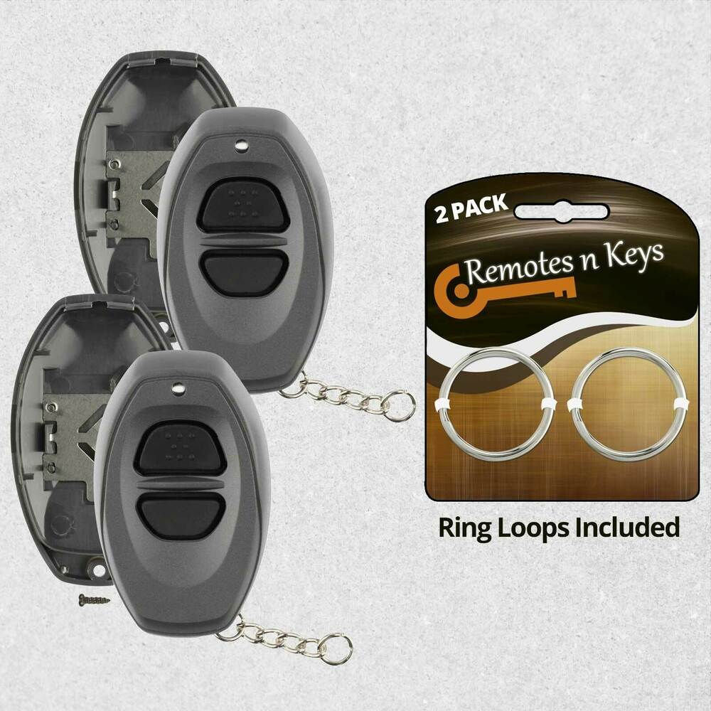 2 For New Replacement Keyless Entry Remote Car Key Case