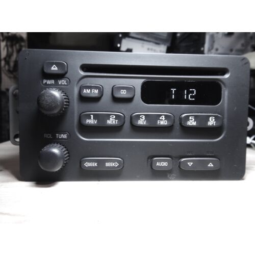 chevy-alero-0304-cavalier-0305-malibu-0304-cd-player-radio-u1c-tested-1528g