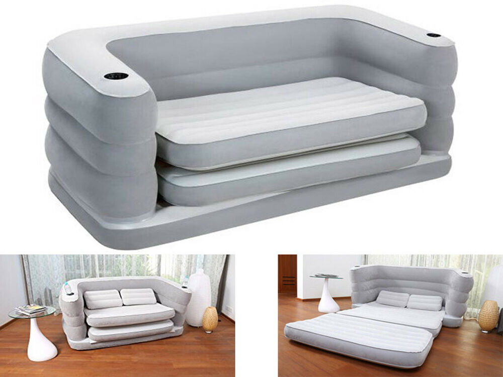 Bestway Multi Max Ii Inflatable Sofa Couch Double Air Bed