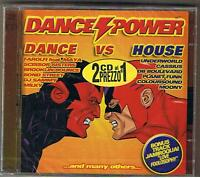 "DANCE POWER ""DANCE vs HOUSE""PLANET FUNK..2CD SEALED"