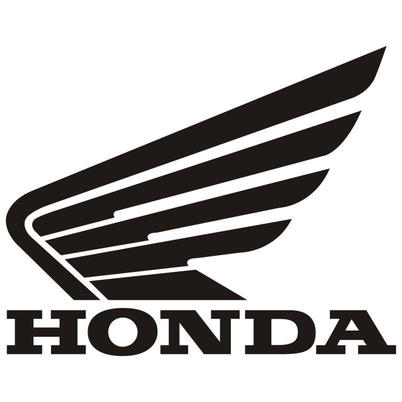 honda wings motorcycle sticker decal colour size choice vld ebay. Black Bedroom Furniture Sets. Home Design Ideas