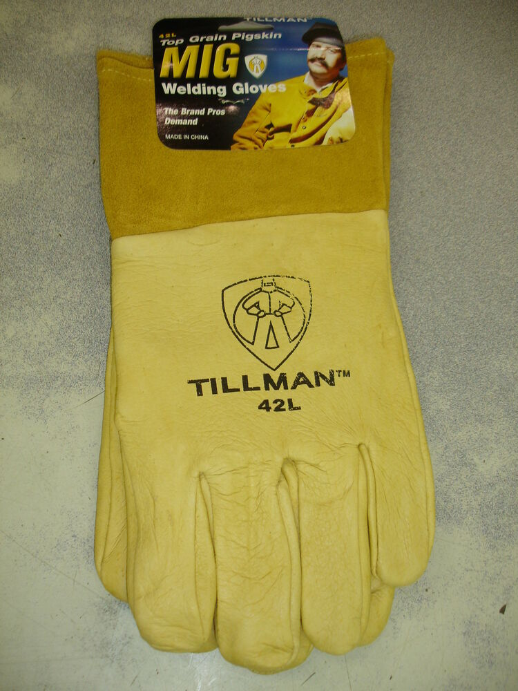 Tillman 42l Mig Tig Gloves Large Top Grain Pigskin Ebay