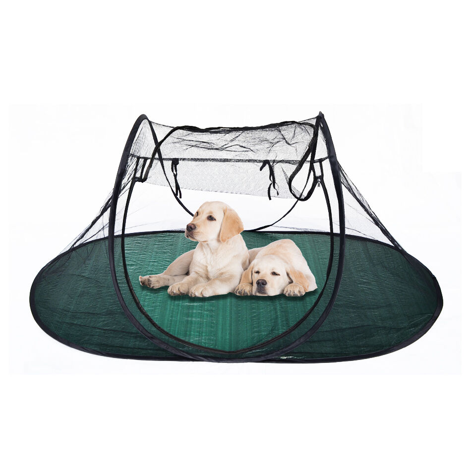 portable cat dog puppy play exercise pen pet tent house crate indoor outdoor ebay. Black Bedroom Furniture Sets. Home Design Ideas