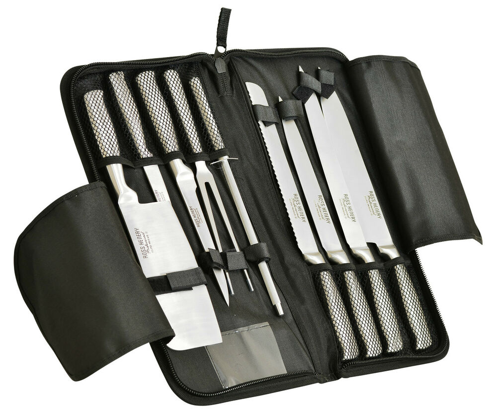 professional kitchen knives set ross henery professional stainess steel 9 chefs 21376