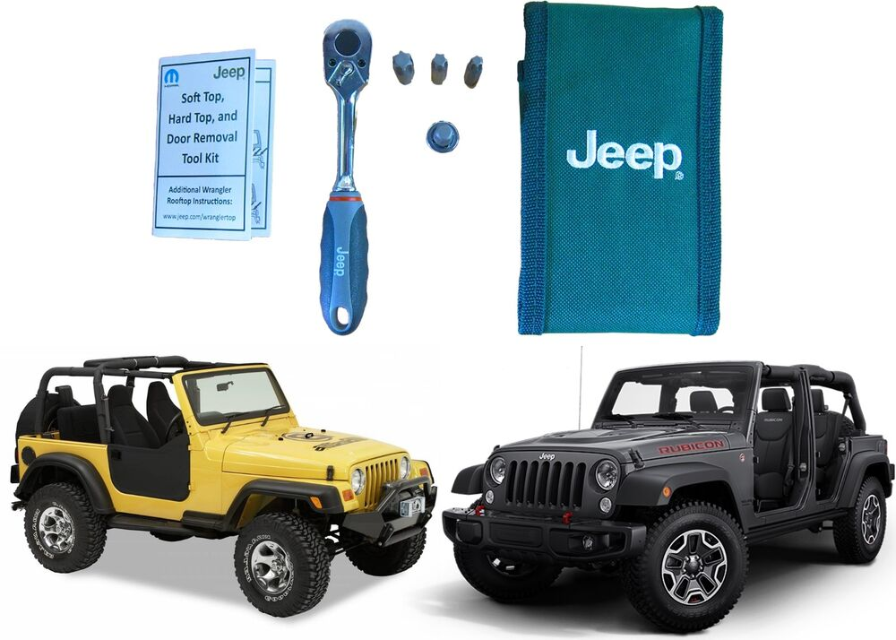 hard top door removal tool kit for 1997 2016 jeep wrangler new free shipping ebay. Black Bedroom Furniture Sets. Home Design Ideas