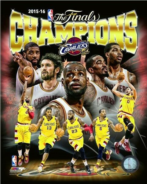 Cleveland Cavaliers Fans Scale Walls To Get Photos Of Nba: Cleveland Cavaliers 2016 NBA Champions Composite Photo