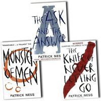 Chaos Walking trilogy Series Patrick Ness 3 Books Collection Set