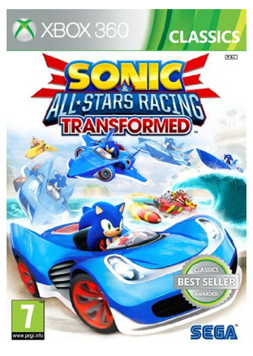 New Xbox 360 All Games : Sonic and all stars racing transformed classics xbox