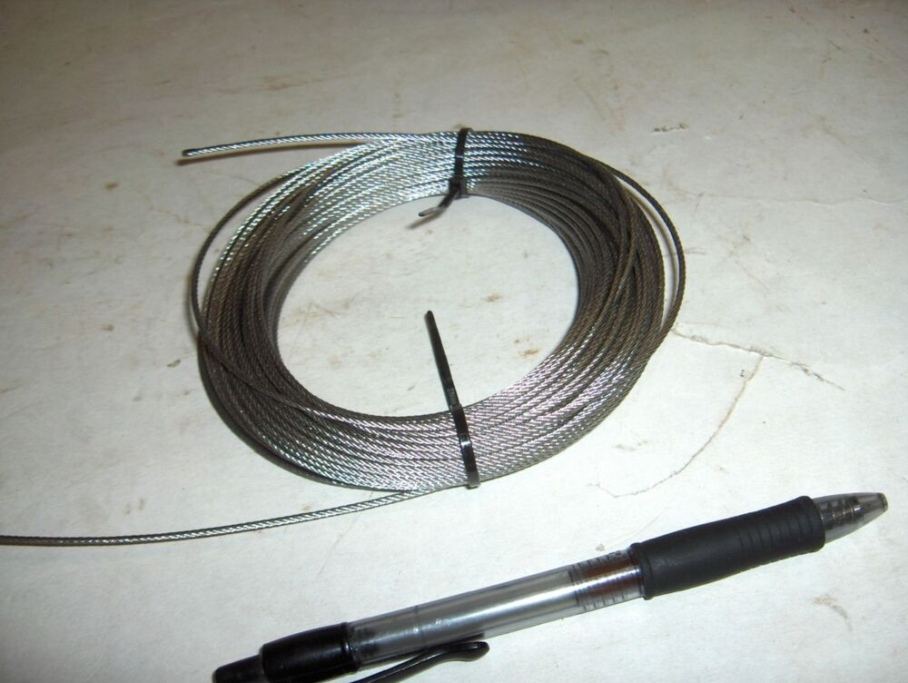 New 3 32 Quot 0937 Quot Stainless Steel 7x7 Aircraft Cable Wire