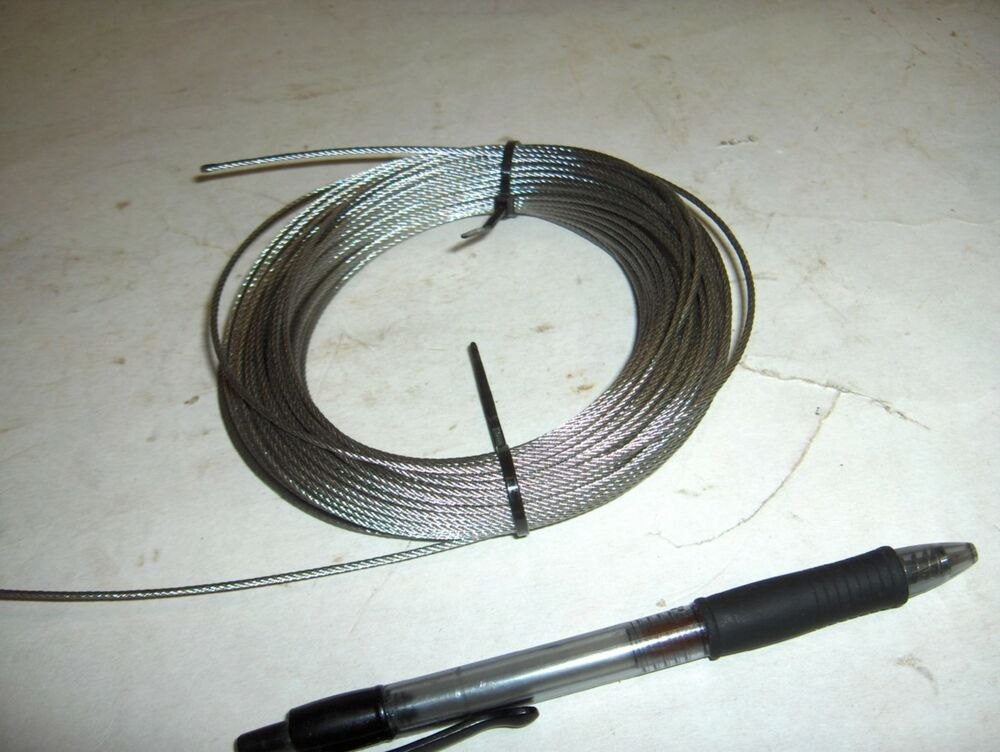 Steel Wire Rope : New quot stainless steel aircraft cable wire